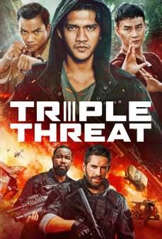 مشاهدة وتحميل فلم Triple Threat تهديد ثلاثي اونلاين