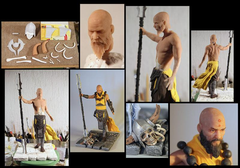 Awesome Diablo 3 Fan Made Action Figures Gadgetsin