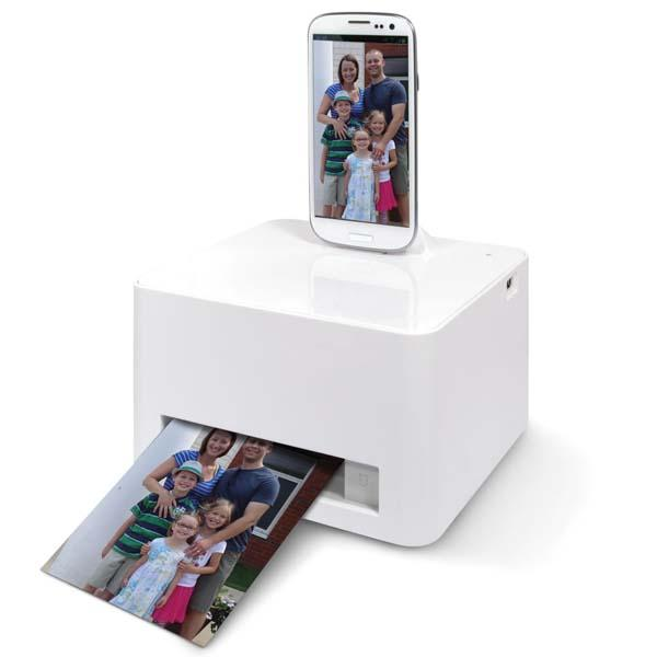 The Photo Printer For Smartphones And Tablets Gadgetsin