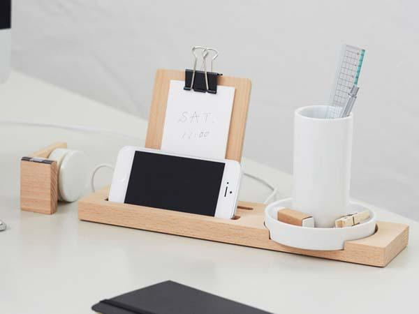 WW Stationary Tech Desk Organizer Gadgetsin