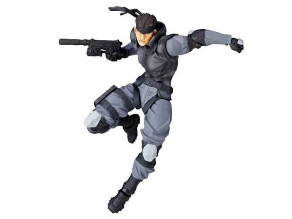 Revoltech Metal Gear Solid Snake Action Figure Gadgetsin