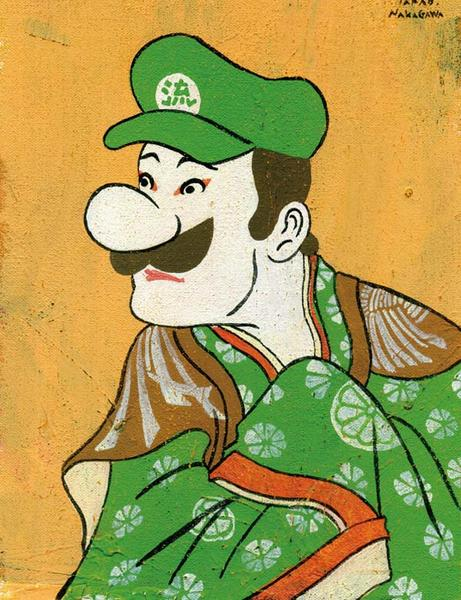 Pop Culture Characters In Edo Ukiyoe Gadgetsin