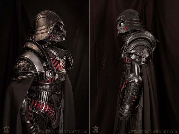 The Medieval Darth Vader Armor Made From Premium Leather