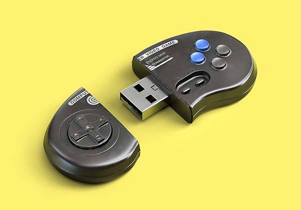 The Memories Stick USB Flash Drives Inspired By Retro Game