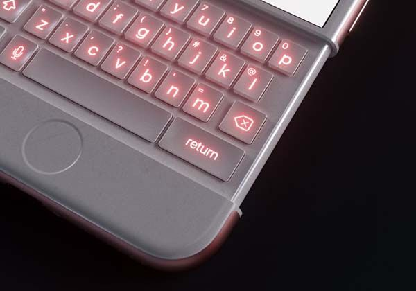 The Concept Iphone 6k Shows Off A Slidable Keyboard