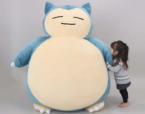Giant Snorlax Pokemon Cushion Is The Cutest Bed For Kids Gadgetsin