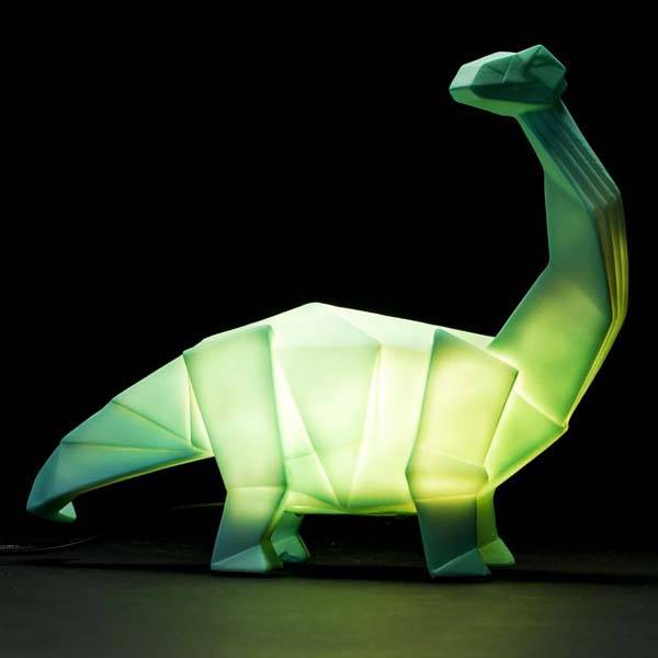 The Dinosaur LED Lamp Lights Up Your Room With The Style