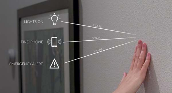 Knocki Turns Any Surface Into A Remote Control For Your
