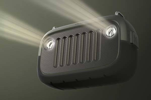 The Jeep Inspired Outdoor Waterproof Bluetooth Speaker