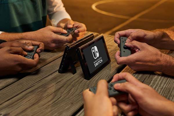 Nintendo Switch Home And Handheld Game Console Gadgetsin