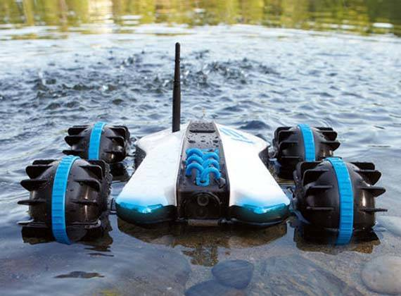 Rover Land Amp Sea Amphibious App Controlled Vehicle With