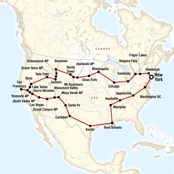 Amerika ABD Turu