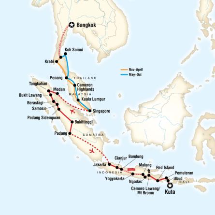 Güneydoğu Asya Turu