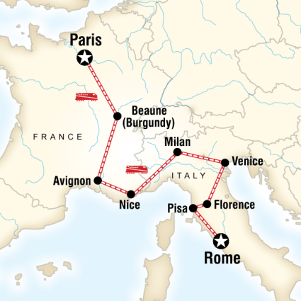 Fransa Monako İtalya Turu