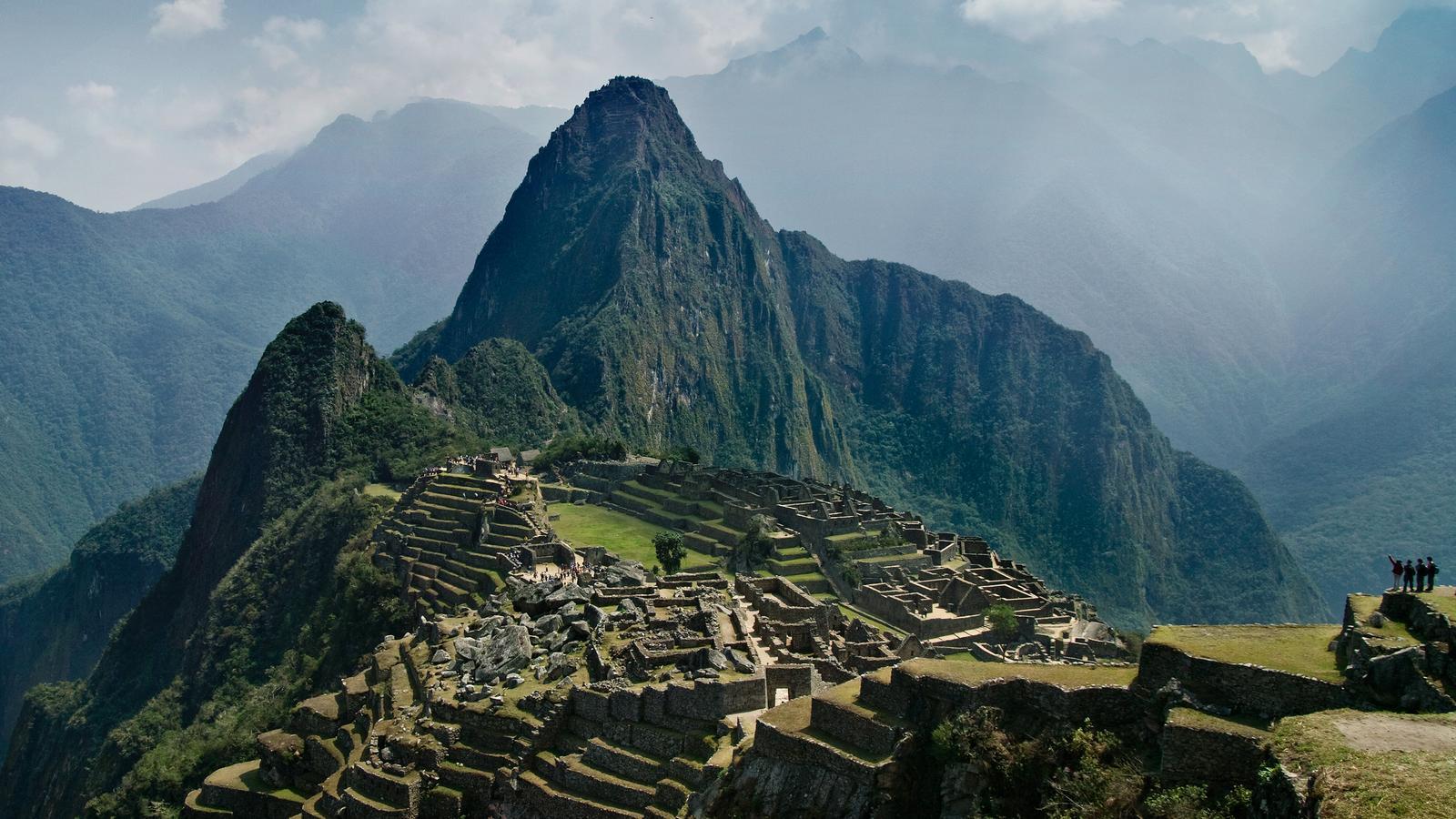 Inca Empire In Peru South America