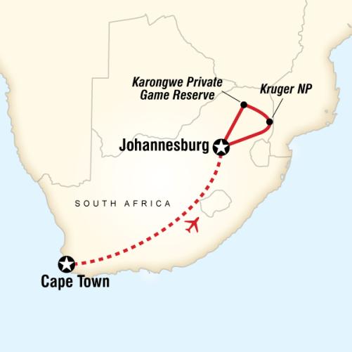 Güney Afrika Safari Turu