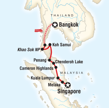 Tayland Malezya Singapur Turu