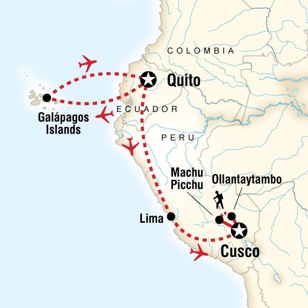 Galapagos Adaları ve Peru Turu