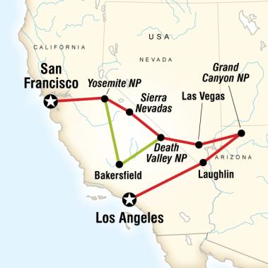 Batı Amerika Turu