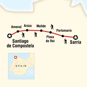 İspanya Yürüyüş Turu