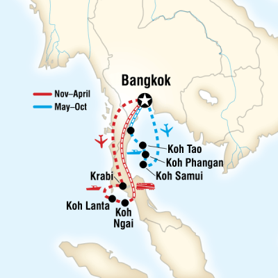 Thailand Island Hopping – West Coast in Bangkok, Thailand ...