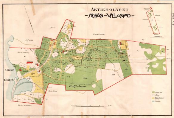 Hovås Villastad 1920