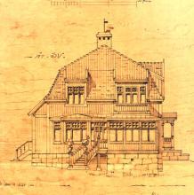 Frida Schröders villa i Hovås