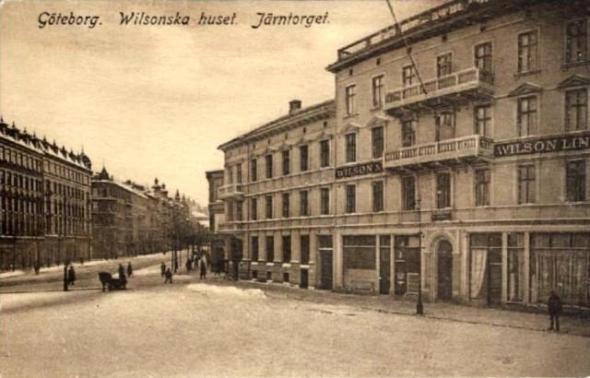 Järntorget mot Linnégatan