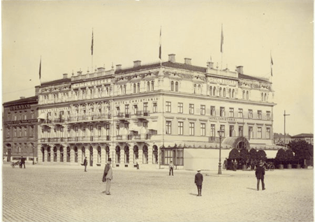 Hotel Eggers på 1890-talet.