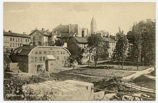 Majornas Folkpark 1910