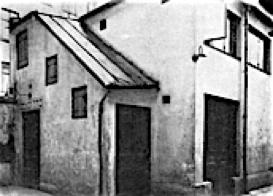 Minjens lokal på Andra Långgatan 6 år 1923 eller 1924