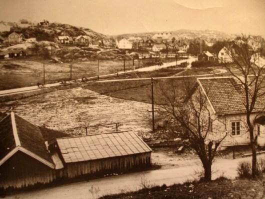 Kungssten 1936. Utsikt mot Ekebäck