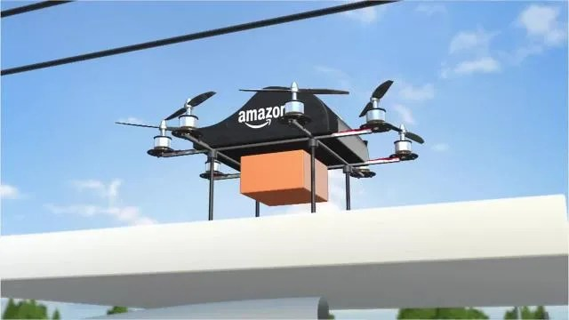 Amazon Delivery Drone Details Sound Cool