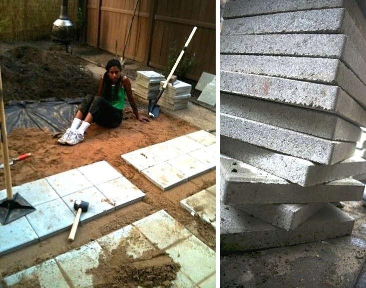 building a patio gardenista