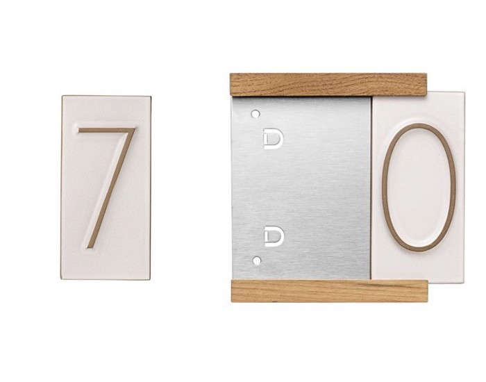 10 easy pieces tile house numbers