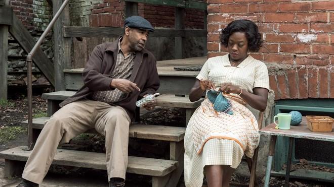 """Um Limite Entre Nós"""", Viola Davis e Denzel Washington"""