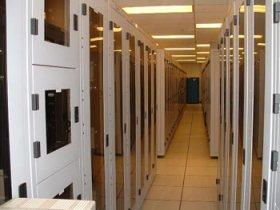 Una sala de servidores