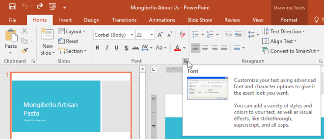 More options in groups - www.office.com/setup