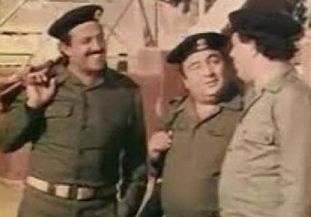 Samir Ghanem in the movie Troubled Army