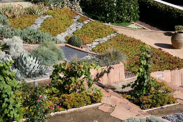 jardin en pente amenagement plantes