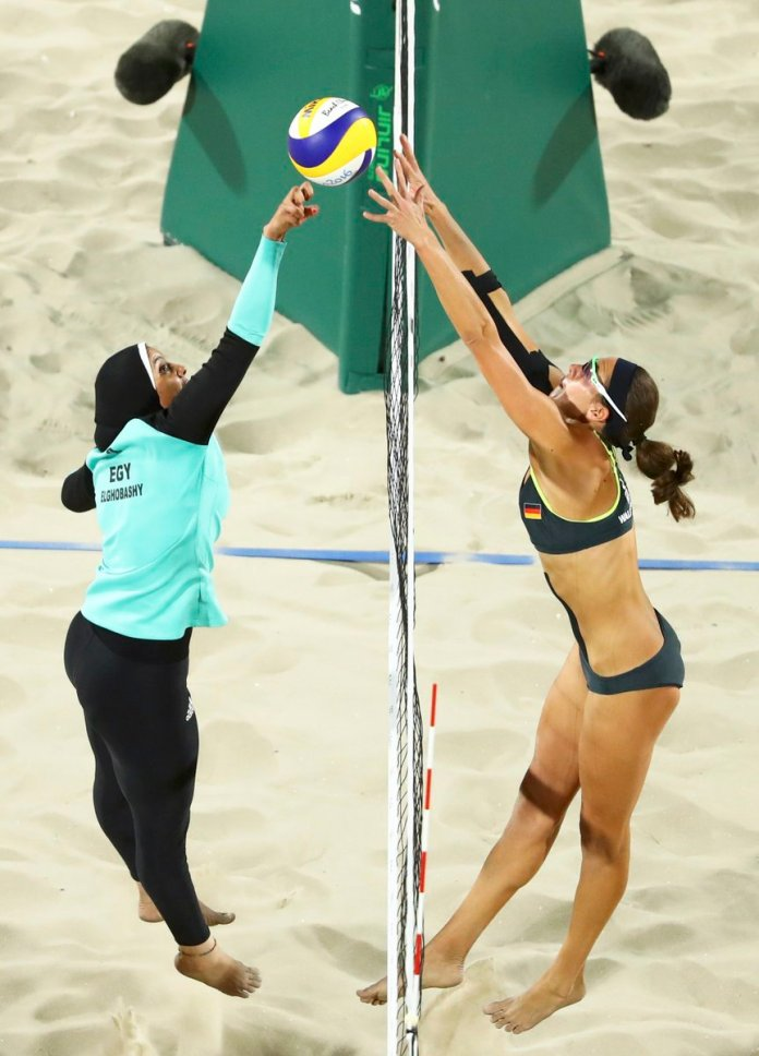 Beach Volleyball Egypt vs Germany