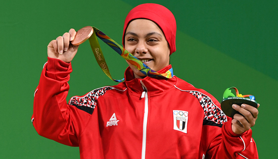 Sara Samir crowned Bronze at the Rio Olympics