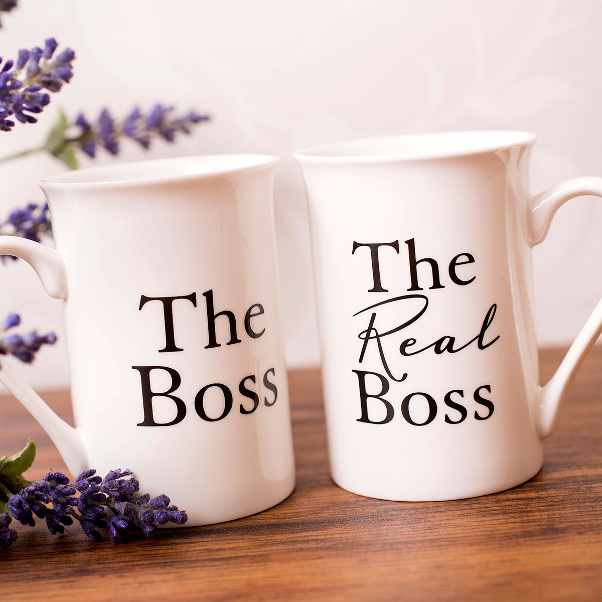 Mug Gift Set The Boss Amp The Real Boss GettingPersonal
