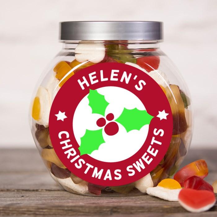 Personalised Haribo Sweet Jar