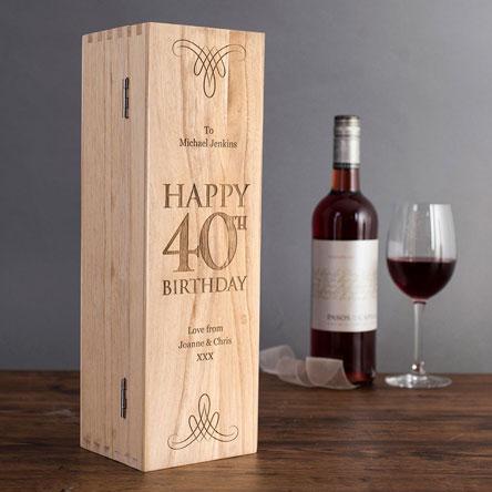 40th Birthday Gifts 40th Birthday Ideas Getting Personal