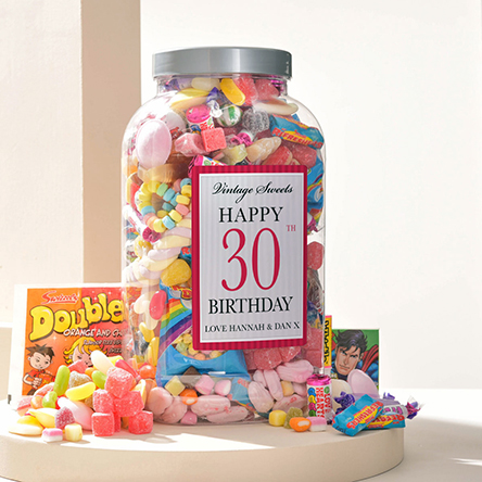 30th Birthday Gifts Present Ideas Getting Personal