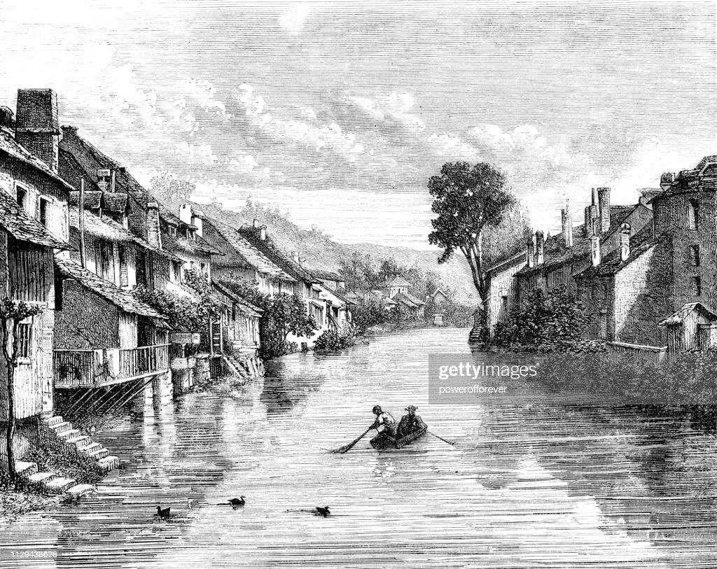 https www gettyimages fr detail illustration besan c3 a7on on the doubs river in france illustration libre de droits 1129438628
