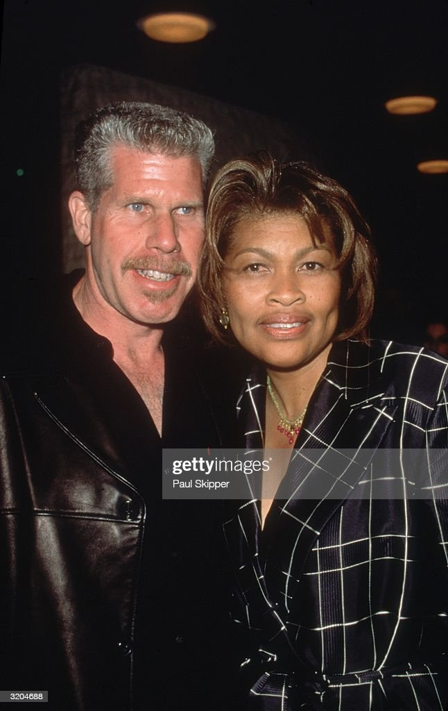 Ron Perlman And His Wife