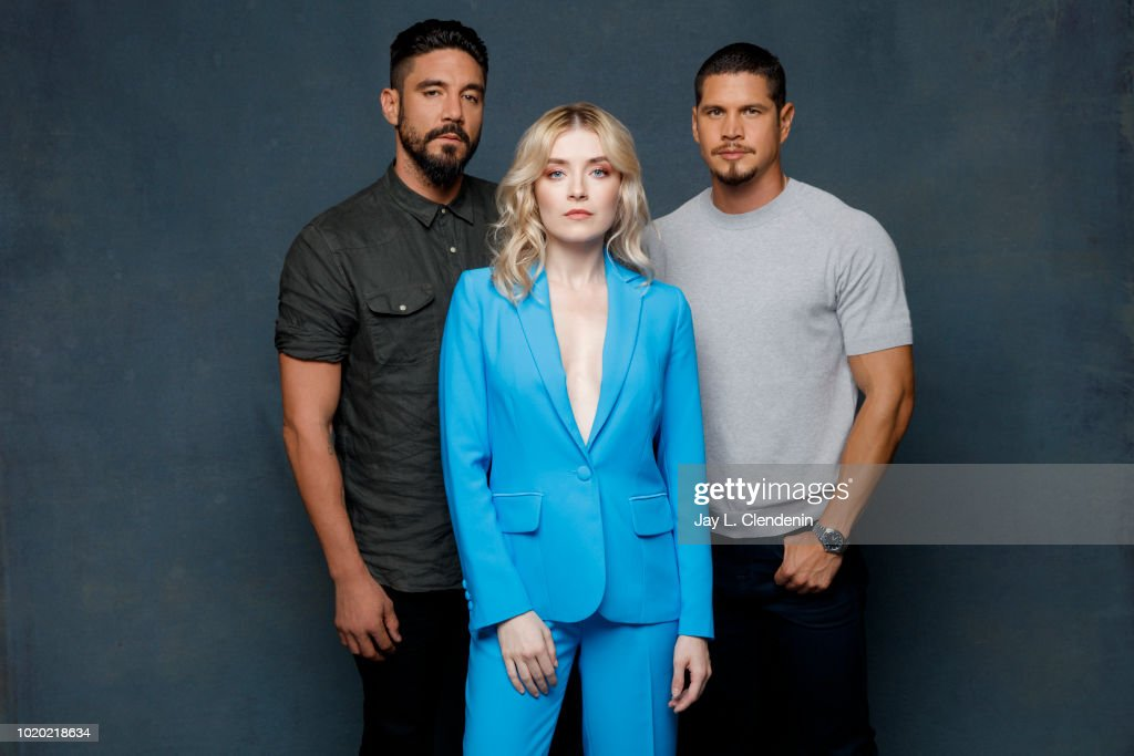 Jd Pardo Stock Photos and Pictures   Getty Images Actors Clayton Cardenas Sarah Bolger and JD Pardo from  Mayans MC  are  photographed for