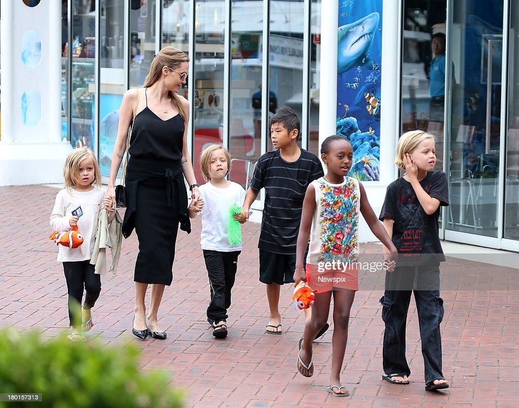 Shiloh Jolie Pitt Boy 2013